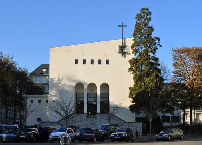 Le temple Protestant à Nantes